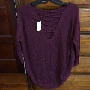 Express- light weight sweater Top.